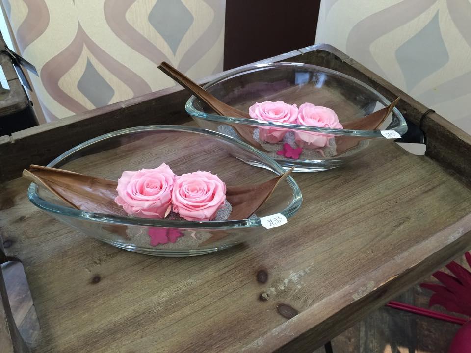 Roses lyophilisées