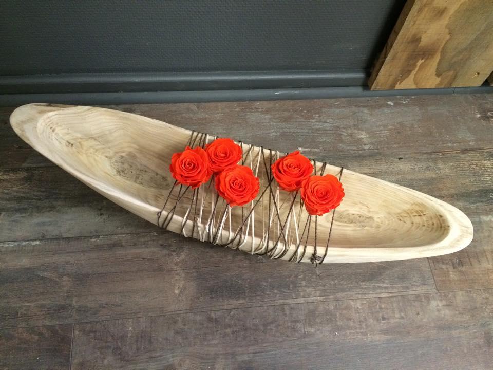 roses lyophilises oranges - Fleurs Lyophilises Mariage