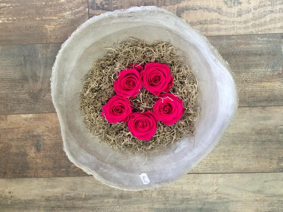 roses lyophilises oranges roses lyophilises - Fleurs Lyophilises Mariage